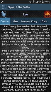Signs of the Zodiac - screenshot thumbnail