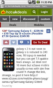Hot Deals UK screenshot 1