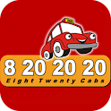 Eight Twenty Cabs – 8202020 logo