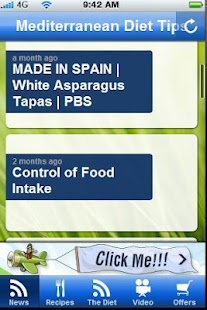 Mediterrean Diet Tips. - screenshot thumbnail