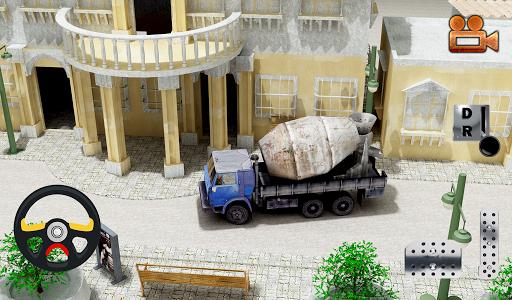 工程車停車場3D