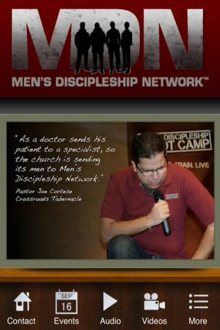 Men's Discipleship Network