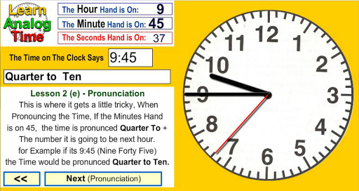 Learn Analog Time Apk Download 2