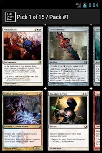 Return to Ravnica Draft Sim - screenshot thumbnail