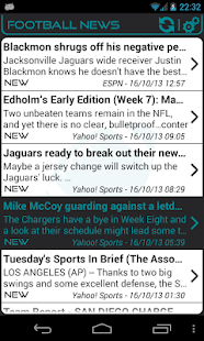 Jacksonville Football News- screenshot thumbnail