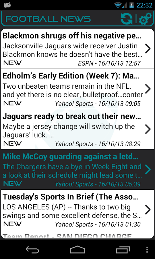 Jacksonville Football News - screenshot