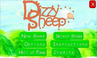 Screenshot of Dizzy Sheep Demo