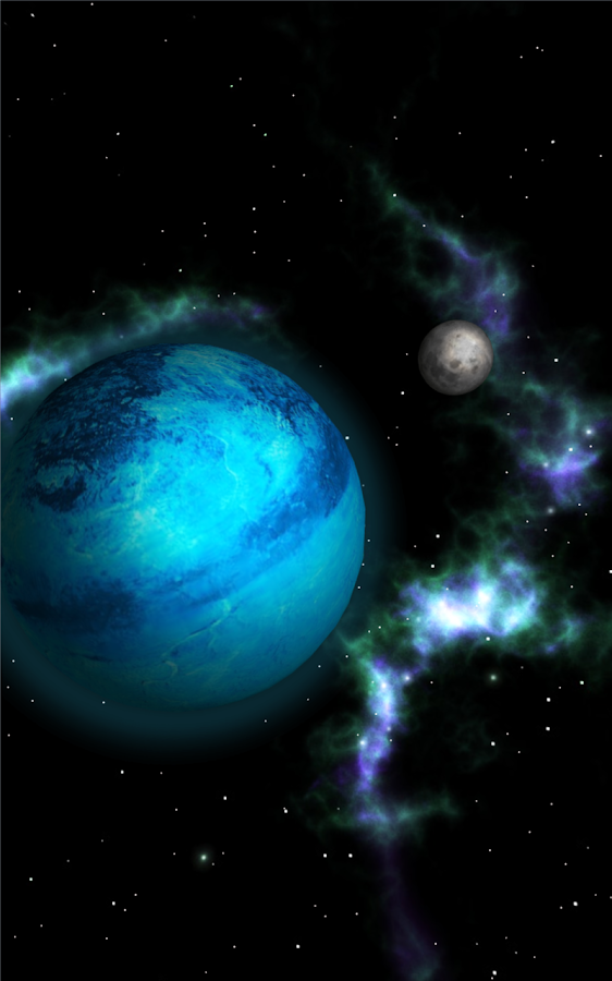 GyroSpace 3D Live Wallpaper- screenshot