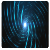 Live wormhole background