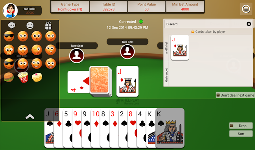 KhelPlay Rummy u2013 Indian Rummy  gameplay | by HackJr.Pw 6