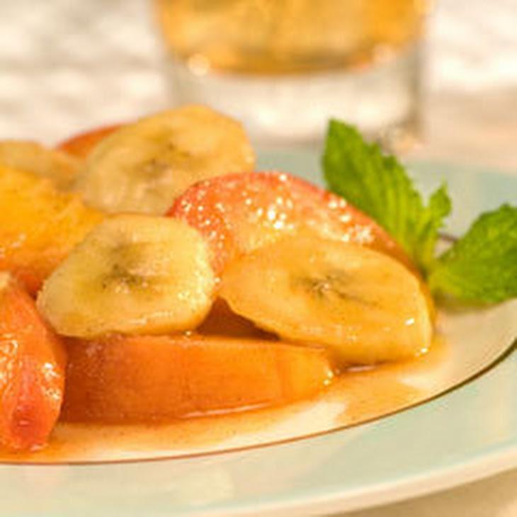Peachy Bananas Foster Recipe
