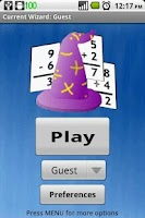 Screenshot of Math Wizard