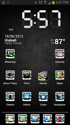 HD Icons: White Alloy