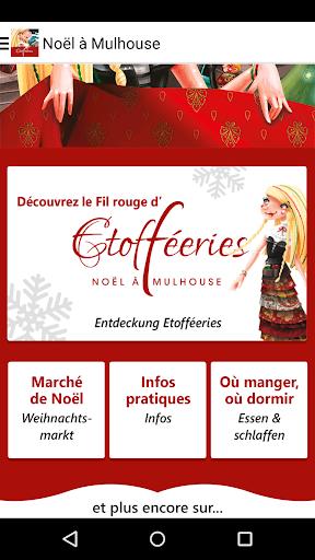 Etofféeries Noël à Mulhouse