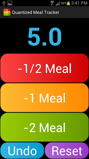 Quantized Meal Tracker