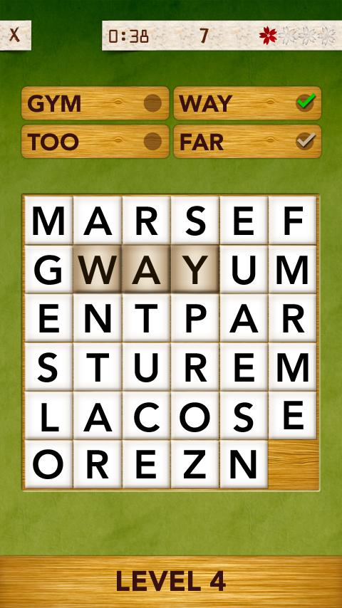 WordPuzzle Free- screenshot