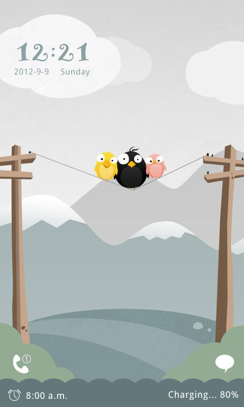 Bird GO Locker Reward Theme - screenshot