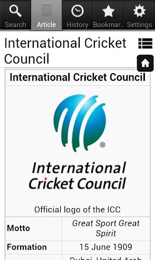 Cricket Encyclopedia