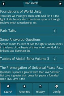 Bahai Web Search (Baha'i)- screenshot thumbnail