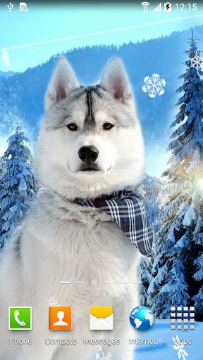 mod Cute Winter Wallpaper 1.0.8 screenshots 1