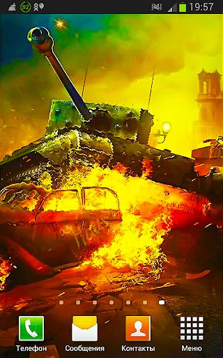 Танки Войны HD Живые Обои