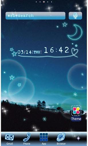Night Sky Wallpaper Theme 1.6 Windows u7528 1