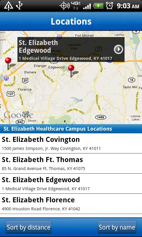 St. Elizabeth Healthcare- screenshot