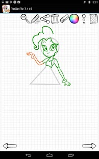 Free Learn to Draw Equestria Girls APK for Windows 8