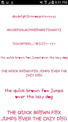 Color Fonts for FlipFont #6 3.22.0 screenshots 6