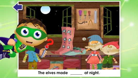 Super Why! from PBS KIDS - screenshot
