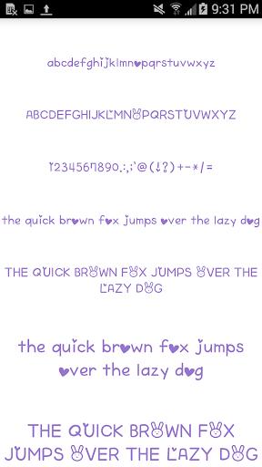 Color Fonts for FlipFont #6 3.22.0 screenshots 7