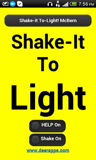Shake To Light