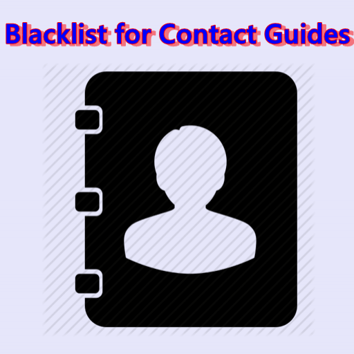 Blacklist for Contact Guides