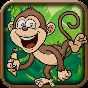 Jungle Monkey Run Saga LOGO-APP點子