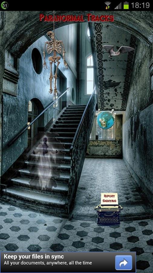Paranormal Tracks- screenshot