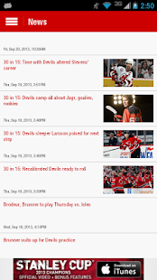 Official New Jersey Devils App - screenshot thumbnail