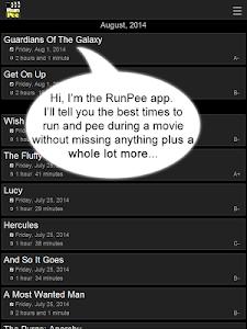 RunPee. v2.9.0