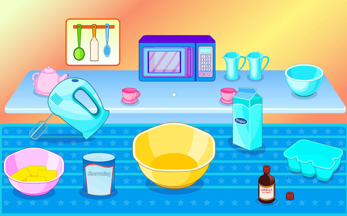 Cooking With Kids Biscuits- screenshot