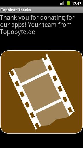 Topobyte Thank You: Cinema