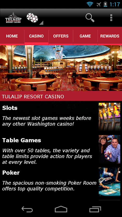 Tulalip Resort Casino- screenshot