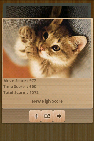 Funny Cats Puzzle & Wallpapers - screenshot