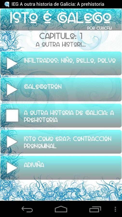 Isto é galego!- screenshot