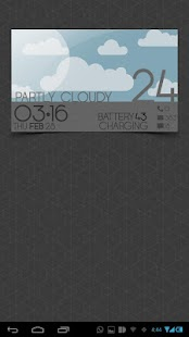 WEATHER CARDS UCCW MNIMALSKIN- screenshot thumbnail