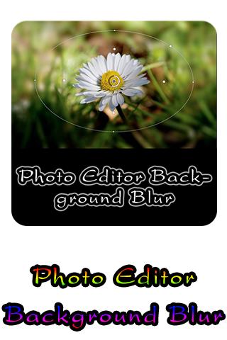 Photo Editor Background Blur