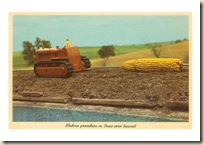 IA-00058-C~Giant-Ear-of-Corn-Towed-by-Tractor-Posters