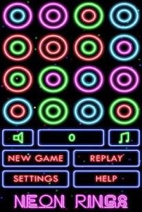 Puzzle Neon Rings - screenshot thumbnail