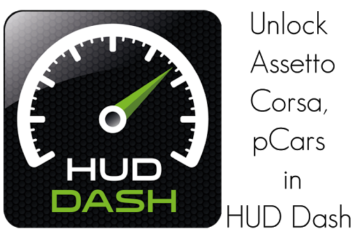HUD Dash KEY for Assetto pCars