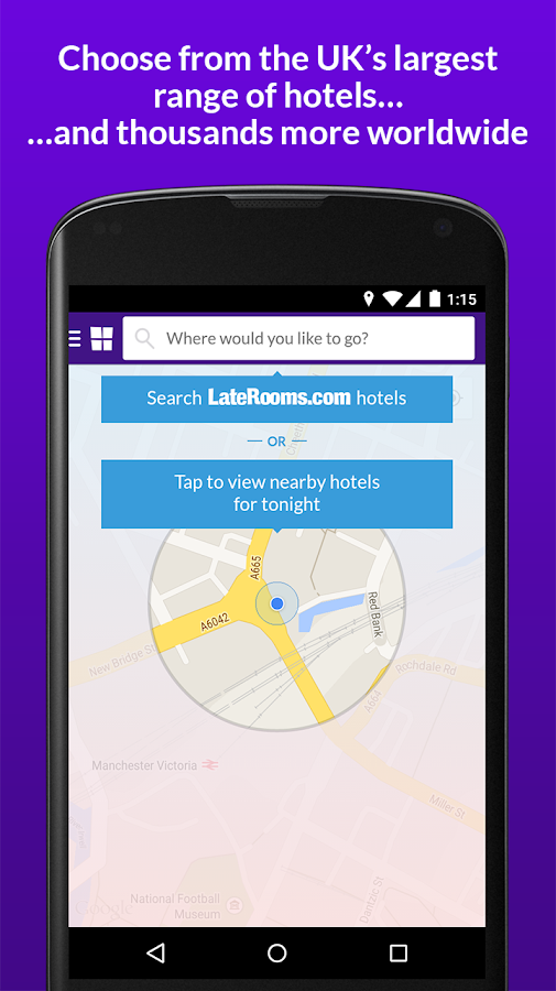 LateRooms: Find Hotel Deals - screenshot