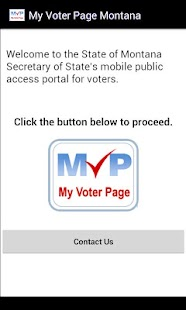 My Voter Page Montana - screenshot thumbnail