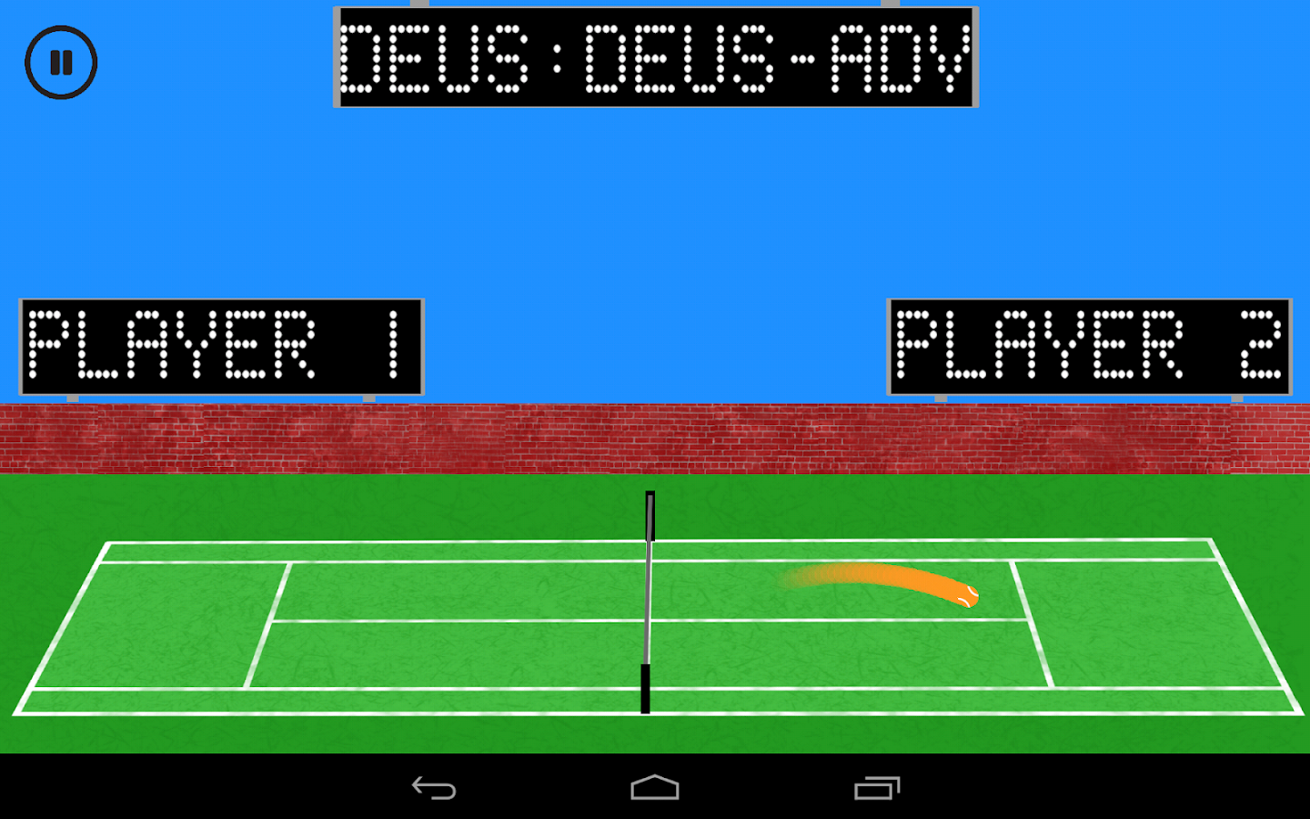 tennis for two android apps on play
